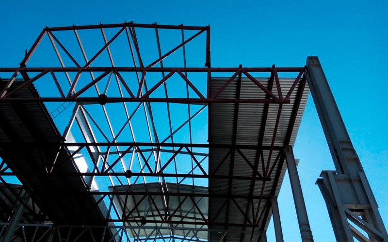 «НЗМК» Реализованные проекты - Изготовление металлоконструкций для цеха Алексинского опытного механического завода