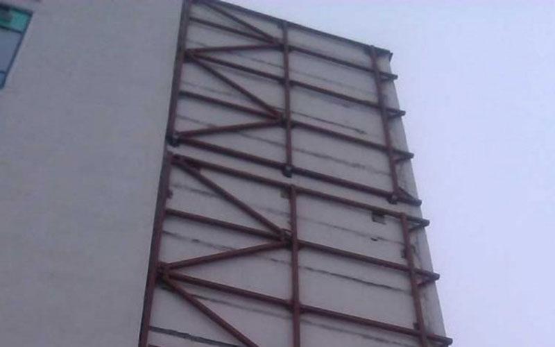 «НЗМК» Реализованные проекты - Реконструкция здания, м/к фахверкового бондажа