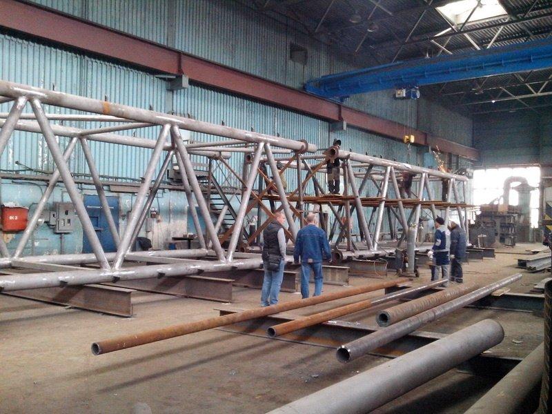 НЗМК - Мостовые металлоконструкции
