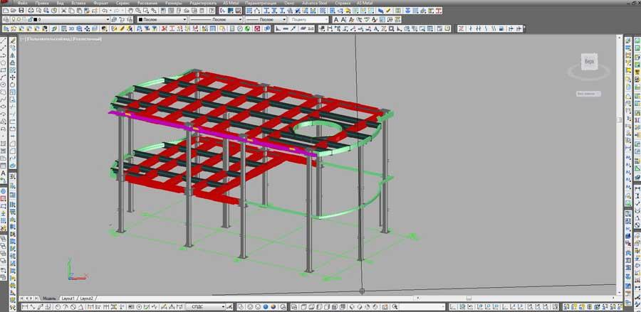 НЗМК - Проектирование металлоконструкций